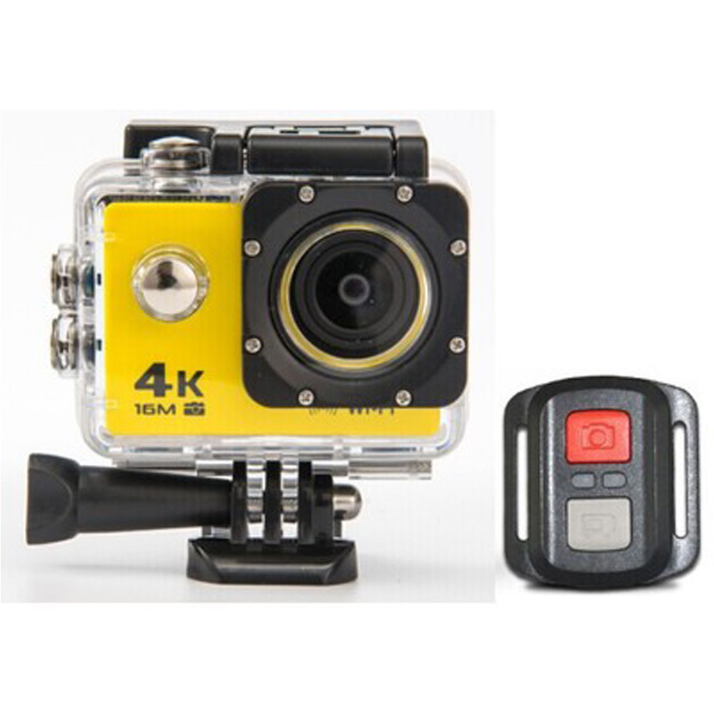 Type de caméra caméra de mouvement 4 K caméra étanche 2.4G télécommande WiFi caméra sous-marine