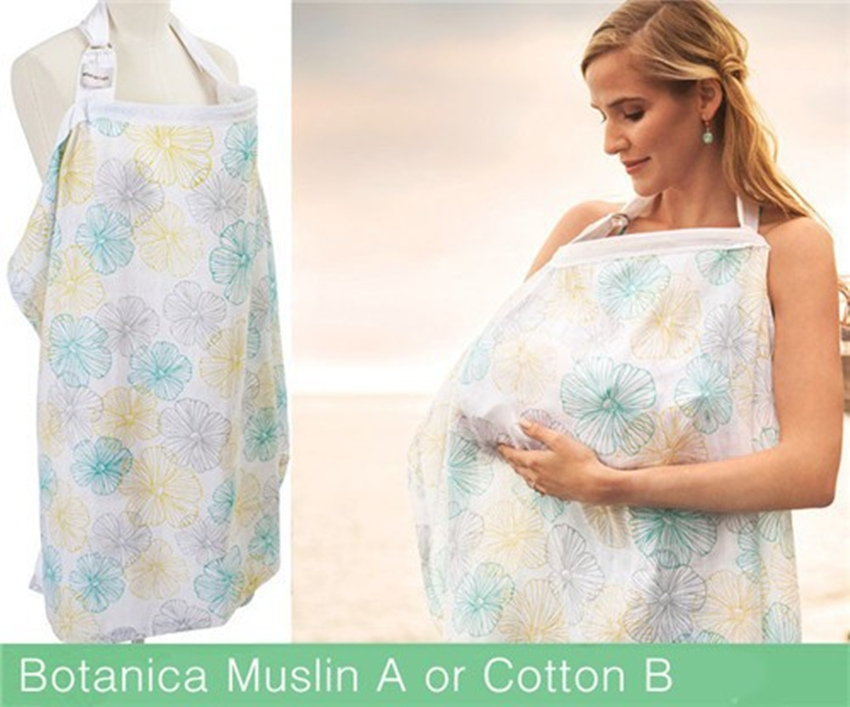 Udder Covers Breast Feeding Nursing Cover Privacy Baby Feeding Apron Cotton Infant Breathable Cloth Baby Monitor Neckline Cover