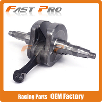 Motorcycle Crankshaft Shaft Connecting Rod For ZONGSHEN 77MM NC250 250cc KAYO T6 K6 BSE J5 RX3 ZS250GY 3 4 Valves Parts