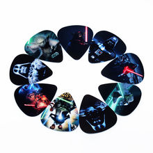 Hot PICKS fashion10pcs Más Nuevo Star Wars Púas de Guitarra Espesor 0.71mm accesorios para instrumentos Musicales