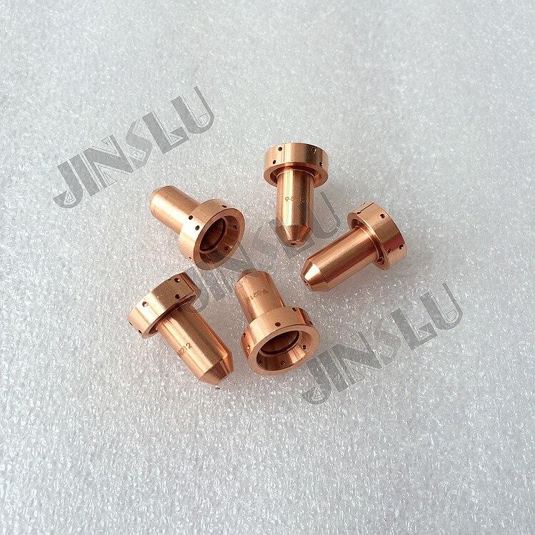 100pcs lot Thermal Dynamics SL60 SL100 plasma cutting nozzle tip 80A 9 8211