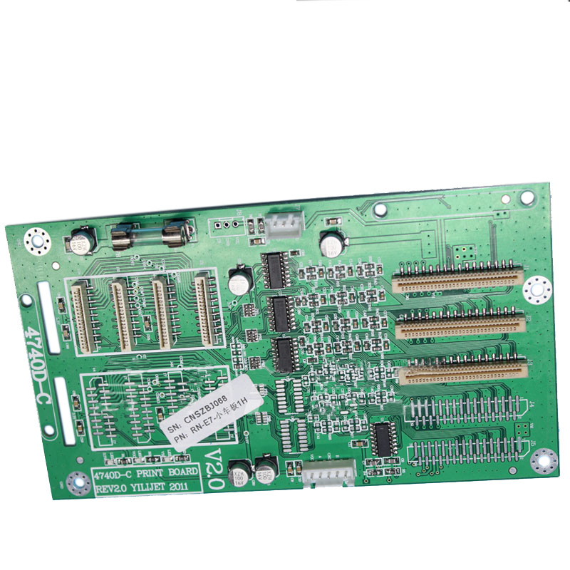 Xenons one piece dx7 Printhead Board 4740D-C (X841) For X2A-7407ASE Eco-solvent Printer