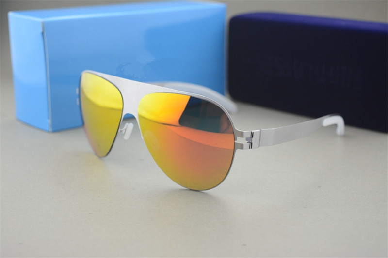 Acheter De luxe lunettes de Soleil Marque Designer Franz Celebrity Fait À  La Main Miroir lunettes 640faf0de057