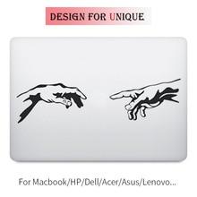 Creation of Adam Bible Story Decal Laptop Sticker for Apple Macbook Pro Air Retina 11 12 13 15 inch Vinyl Mac Surface Book Skin