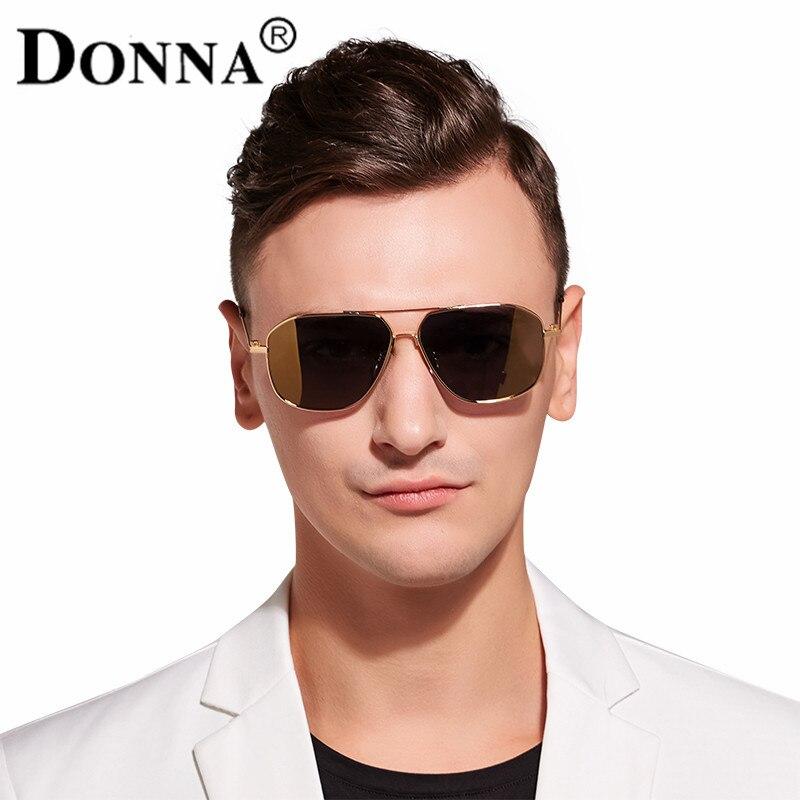 Donna Pilot Style Sunglasses Men Lens Classic Driving font b Polarized b font Aluminum Driving Adult