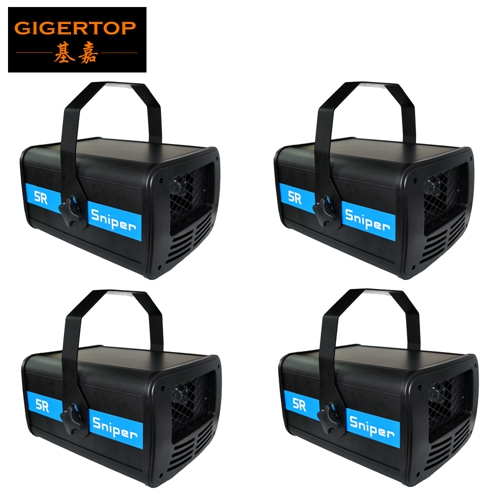 TIPTOP Stage Light 4pcs/lot Professional Stage light 5r Scanner 200w Scan Beam Led Stage Sniper Light DMX 14/20CH 3IN1 for sale factory price hot sales 2pcs lot 5r sniper stage light 5r lamp with zoom function scanner laser beam effect led stage lighting