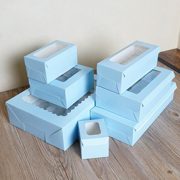1 2 3 4 6 8 holes blue muffin box cake cup box cupcake. Black Bedroom Furniture Sets. Home Design Ideas