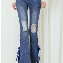 Vestito In Jeans Woman Spring 2019 Fashion Women Casual Mid