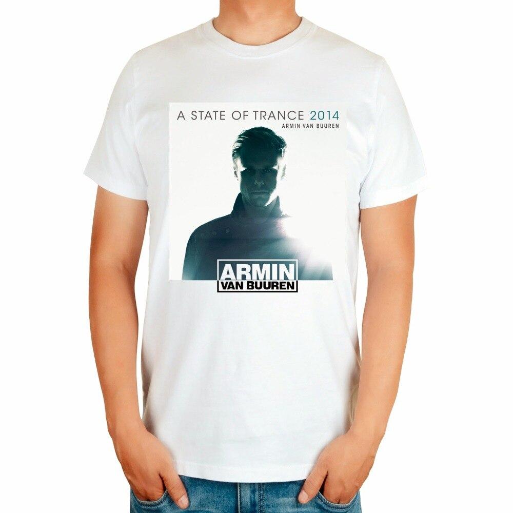4 вида Armin Van Buuren бренд певица диджейская футболка белый mma с принтом хлопковая футболка музыка живой Фитнес camisetas hombre