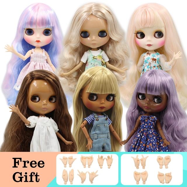 Специальное предложение фабрики модные открытые Блит куклы, суставов и нормальный Для тела распродажа DIY игрушки Бесплатная доставка