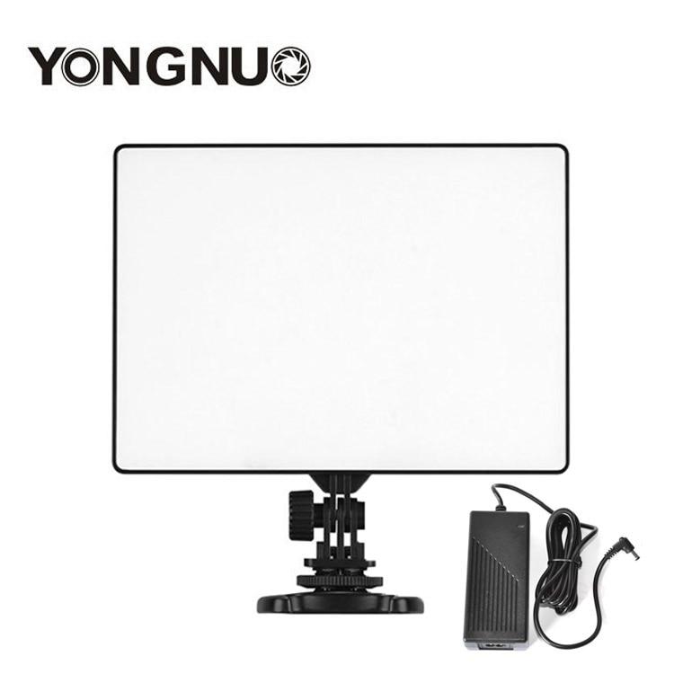 Original Yongnuo yn300 aire LED video panel de luz con Adaptadores de corriente para el vídeo de la boda fotografía para vloggers vlogging-in Kit de iluminación fotográfica from Productos electrónicos    1