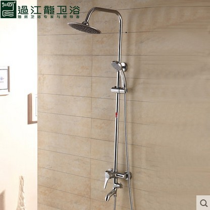 Supply a full copper shower suite with lift under water shower hot and cold water QEY - 5613 models wholesale