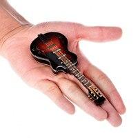 Mini Guitar New Type Electric Gutiar Model Red Black Vision Enjoyment Wood Plastic Stent Patent Leather