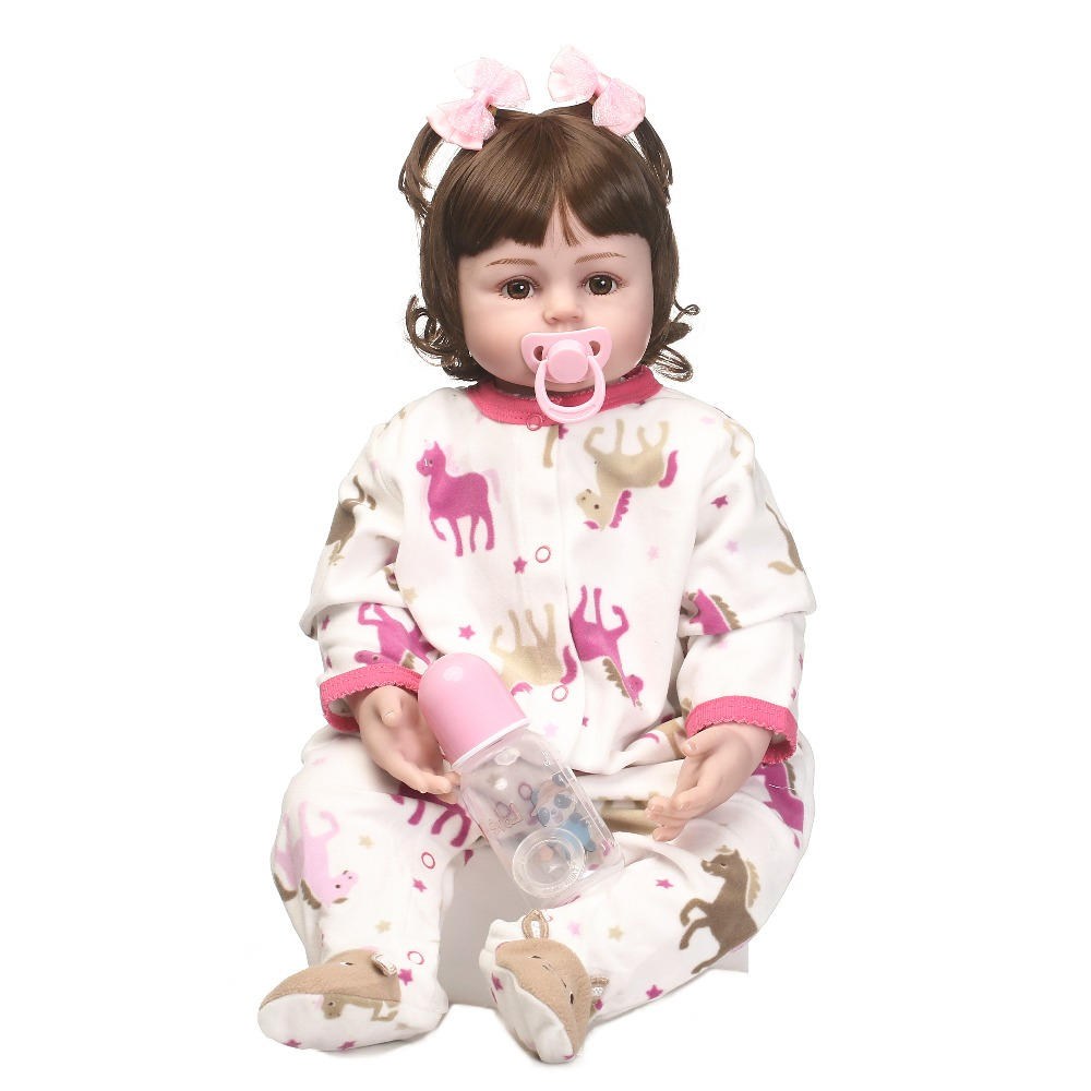doll alive reborn doll with soft real  gentle  touch Handmade reborn doll  with wig hair and very cute clothes toys for kids alive and swingin berlin