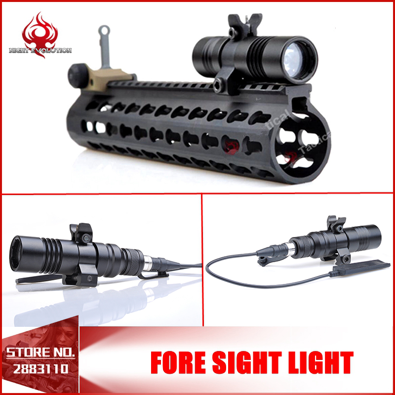 Night-Evolution Tactical Weapon Fore Sight Light For Hunting Outdoor Airsoft LED Torch Weapon Light NE04030 рубашка fore axel