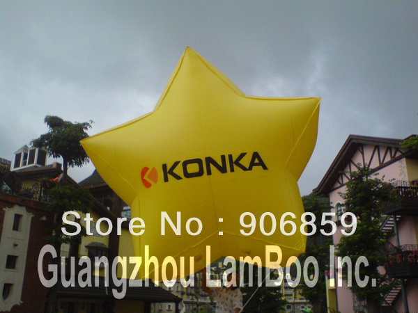 DHL Fast FREE SHIPPING Hot Selling Yellow Inflatable Star Balloon with your Logo for AdvertisingDHL Fast FREE SHIPPING Hot Selling Yellow Inflatable Star Balloon with your Logo for Advertising