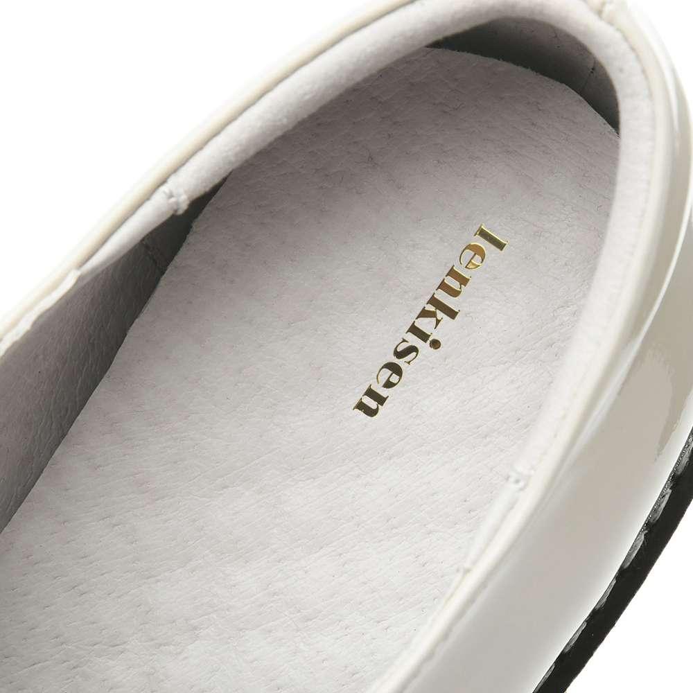 Dilalula Novo Inverno Quente Botas Mulheres Meados de Bezerro Senhoras Martins Botas de Couro Real Sapatos Mulher Namoro Casual Tricô Senhoras Curtas - 6