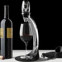 20 компл./лот роскошный аэратор для вина набор башен, красное вино Стекло Аксессуары Быстрый Магия Графин с подарочной коробке