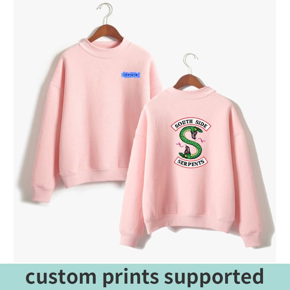 KPOP Riverdale Women/men Hoodies Sweatshirts Fashion Hooded  Long Sleeve Sweatshirt Casual Clothing South Side Serpents Custom