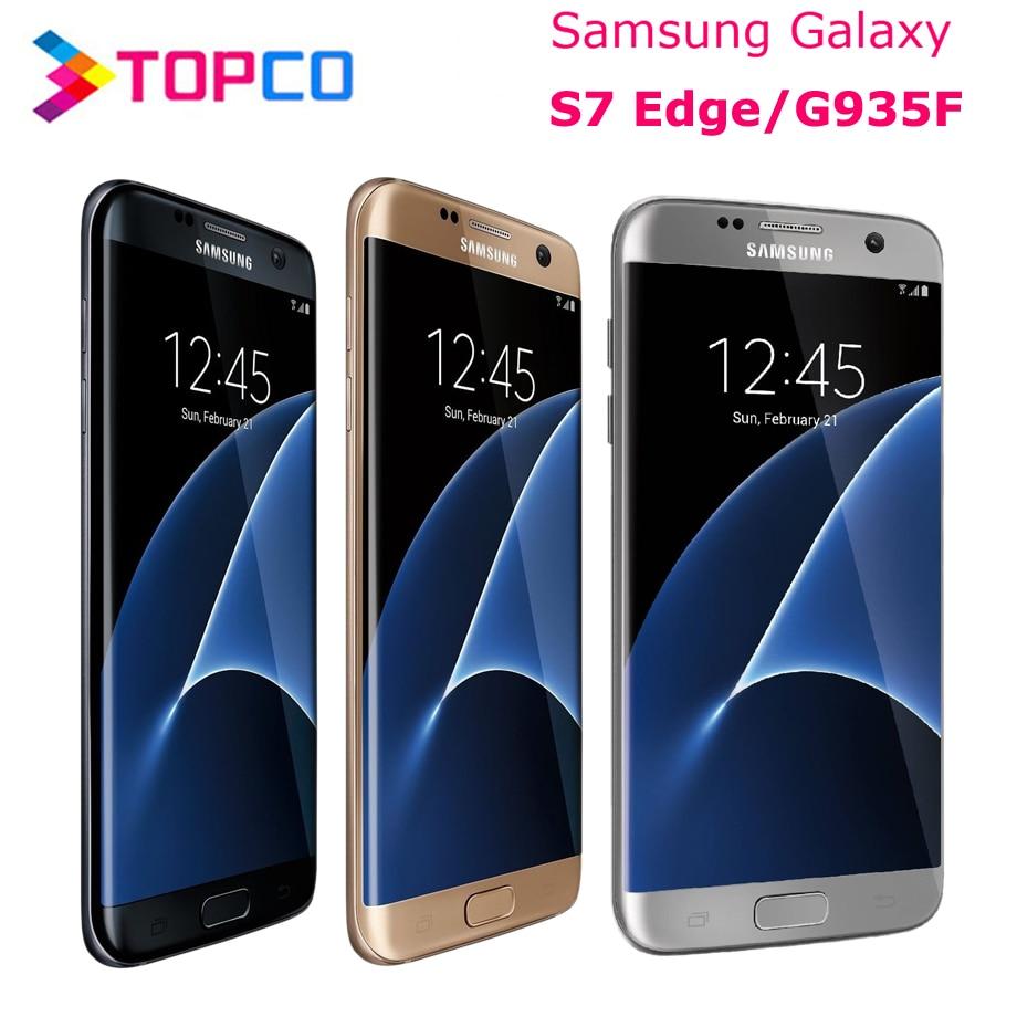 Samsung Galaxy S7 Edge G935F Original Unlocked LTE Android Mobile Phone Octa Core 5.5