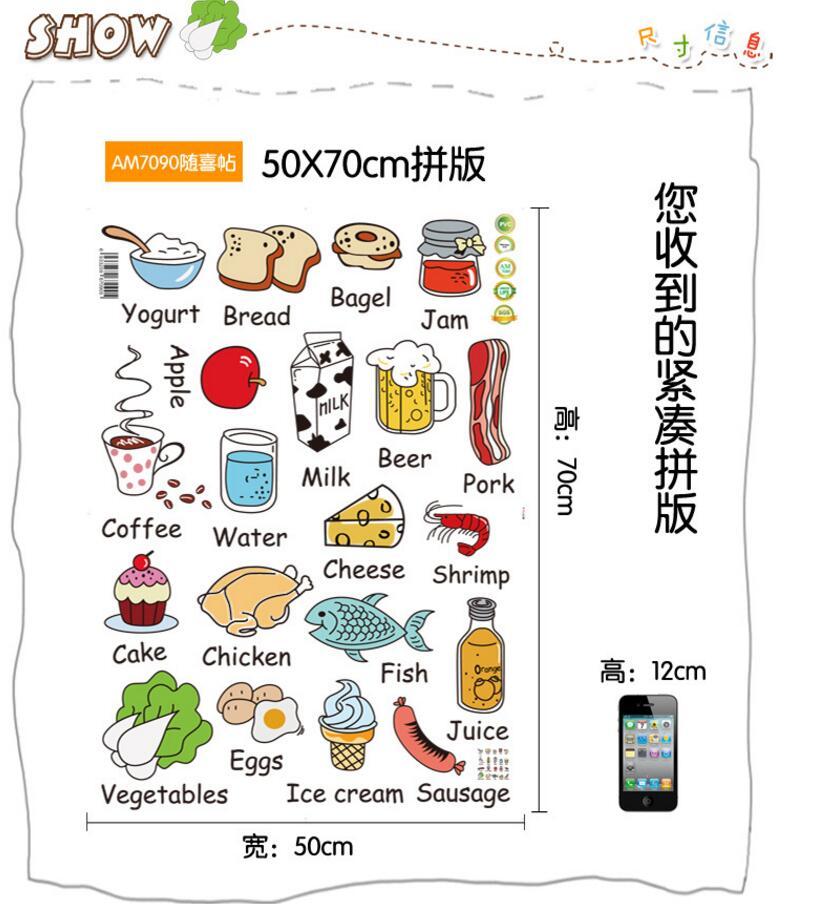HTB1vhFFRXXXXXaOXFXXq6xXFXXXf - Cartoon Kitchen Refrigerator Door Sticker-Free Shipping