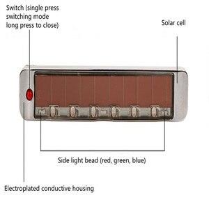 Image 5 - Accessoires de voiture solaire antistatique Sollision lumière LED multi fonction voyant davertissement Luces Led Para Auto voiture accessoires
