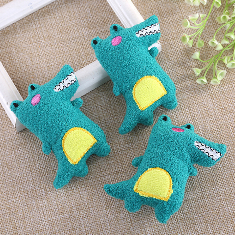 Cute Cartoon Stuffed Animals Crocodile Felt Plush Toys For Children Little Plush Baby Toys Clothes Decoration Peluche Juguetes