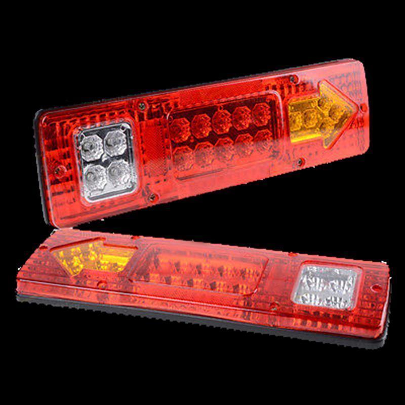 2 Pieces Lot 19 Led Truck Tail font b Light b font 30 9 CM 12V