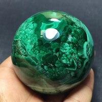Big Size!! Natural Green Malachite Ball Quartz Crystal Sphere Mineral Specimen Healing Crystal Stone Meditation Home Dcoration