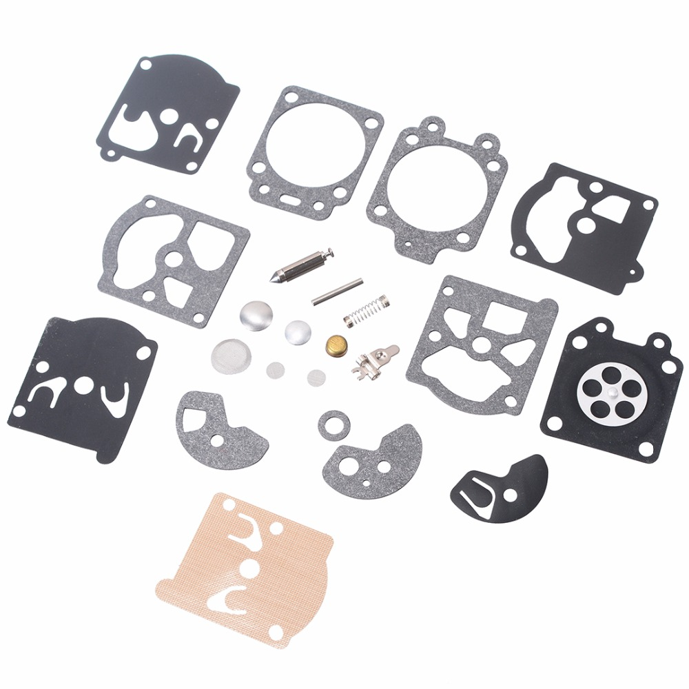 1 ensemble d'outils de réparation pour K10/K20-WAT WA/WT Walbro Carb carburateur diaphragme joint aiguille Kit de réparation Kit d'outils de réparation