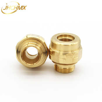 JHCHMX 10pcs/lot Imported Bystronic Nozzles Body 10064099 Nozzles Holder Copper Housing Machine Replacement Parts & accessories