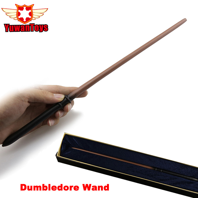 New 2018 Metal Iron Core Draco Malfoy Wand Harry Potter Animation Movie Magic Magical Wand Elegant Ribbon Gift Box Packing ...