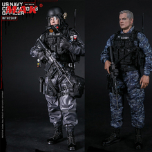 In Stock DAM 78050 1/6 US NAVY COMMANDING OFFICER Full Set Solider Action Figure for Collection Gift