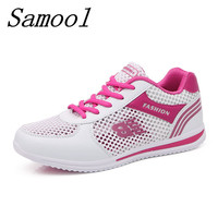 Hot Sales New Fashion Woman Breathable Mesh Zapatillas Shoes Femme Summer Zapato Women Network Soft Casual