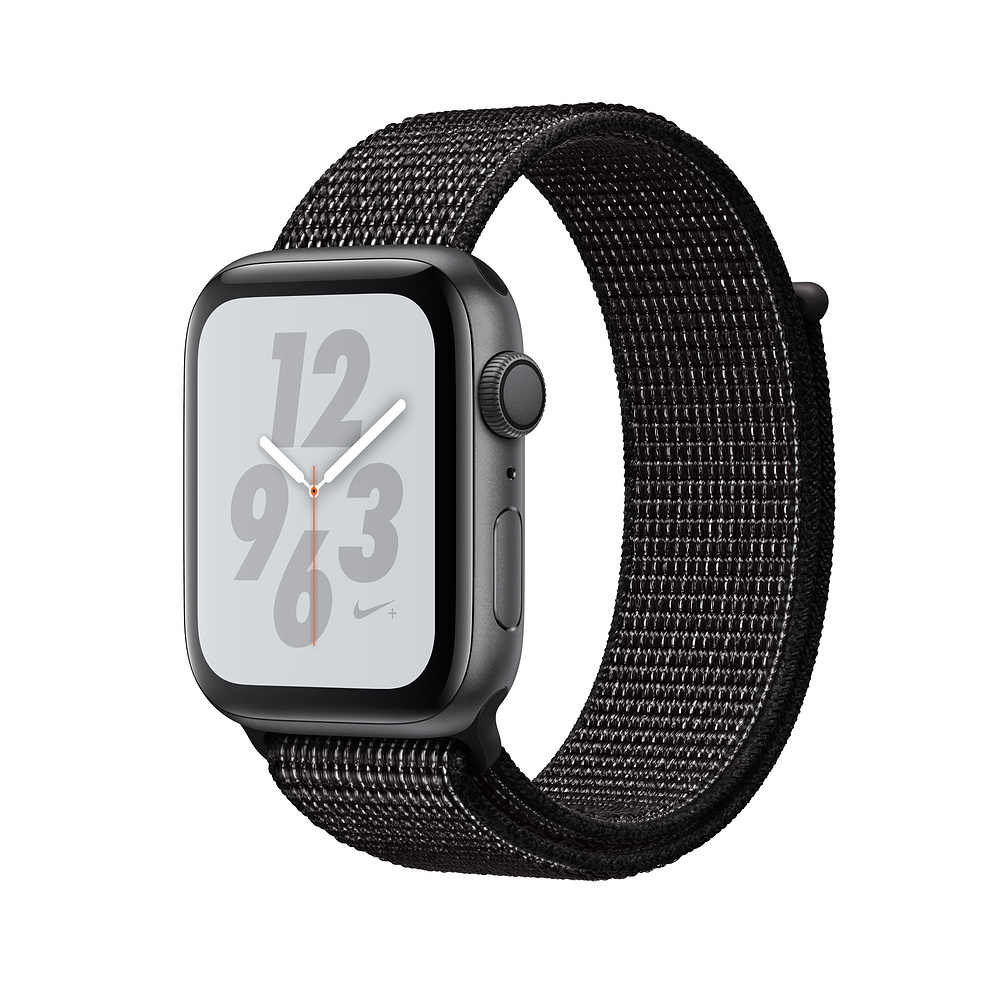 Reflective 2018 Nylon Sport Loop band for Apple Watch Nike Series 4 44mm 40mm strap watchband for iWatch 42mm 38mm Series 4 3 2