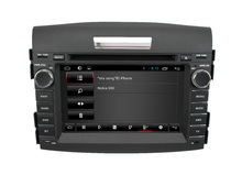 For In dash 2 Din CRV 2012 Car DVD player GPS with 3G+Wifi+DVD+Radio+BT phonebook+Ipod list+Steering wheel control+mirror link