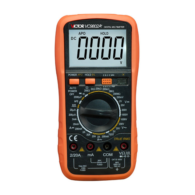 Professional Digital Multimeter : Aliexpress buy victor vc a professional digital