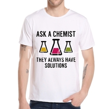 Trust Me I'm A Chemist T-shirt Men Summer  Funny Chemistry Science T Shirt High Quality Boy Tops Hipster Casual Tees L8-A-28