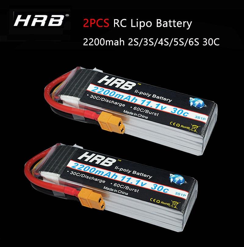 F-cloud HRB RC Lipo batterie 3S 11.1V 2200mah 30C 60C vitesse de rafale lipo pour hélicoptères e-flite RC avec connecteur XT60-T XT60