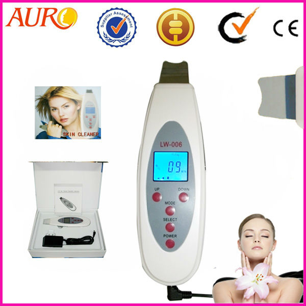 Free Shipping Spa Handheld Facial Ultrasound Peeling Face Lift Body Skin Scrubber Cleanser Beauty Machine Face Massager for Home спрей дымка для сияния кожи my payot brume eclat 125 мл