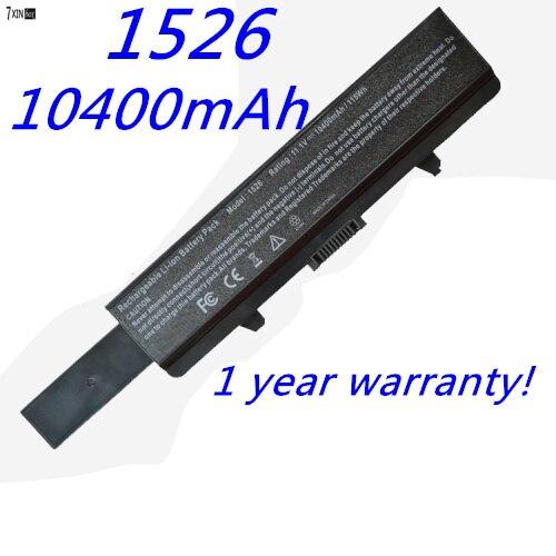 все цены на  Extended Life 12-Cell Battery for Dell Inspiron 1440 1525 1526 1545 1546 1750 GW240 312-0625 HP297 M911G RN873 X284G XR693 C601H  онлайн