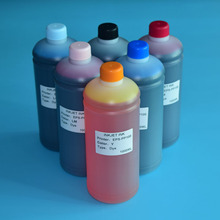 6 Color 1000ml For Epson PP-100 PP-50 Color Vivid Printing Dye Ink Refill Kit for Epson PP100 PP50 PP-50N PP-100N Printer 8 color 1000ml pigment printer ink for epson 7880