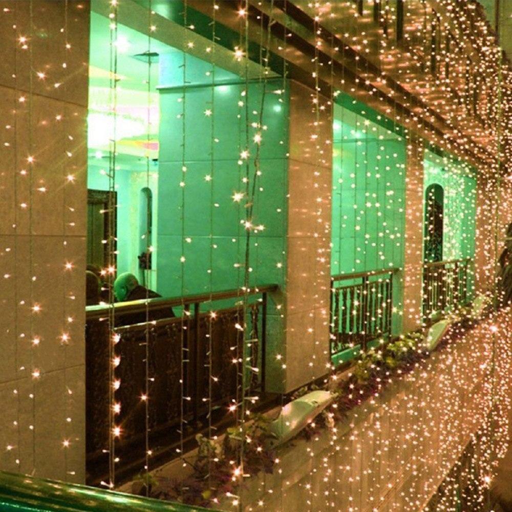 Solar String Light 12m 100 LEDS Christmas LED Strip Light Wedding ...