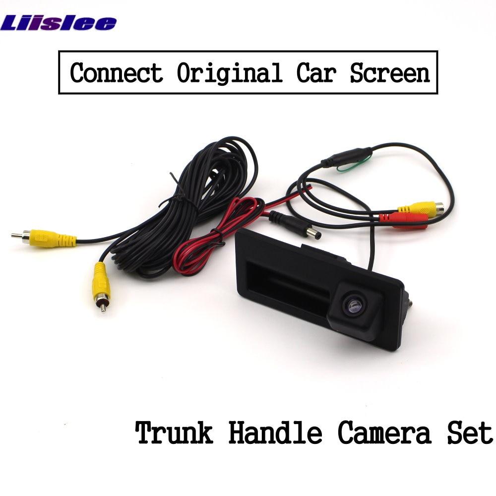 Liislee For Audi Q3 2010~2018 Front Rear View Reversing Camera Original screen upgrade Interface Adapter backup Camera Decoder 11