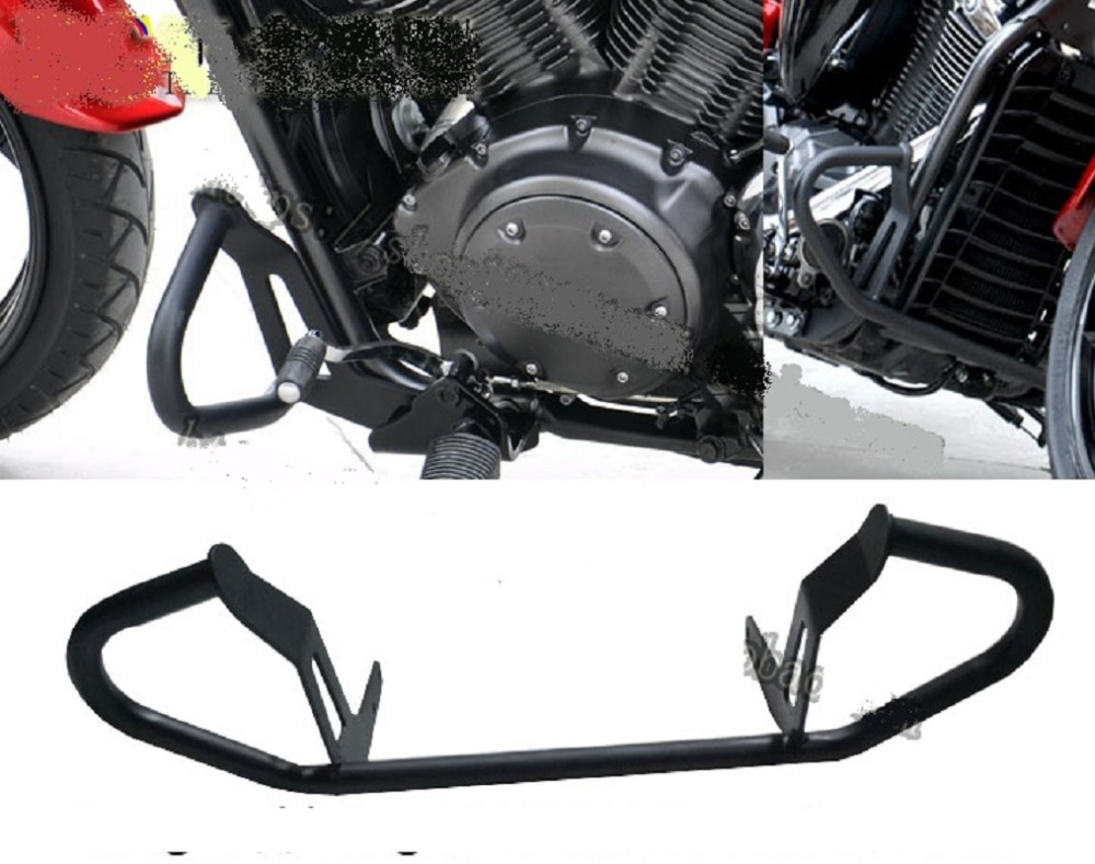 Highway Engine Guard Crash Protector Bar for Yamaha Stryker 1300 XVS1300 2011 2016-in Motor Mounts from Automobiles & Motorcycles    1
