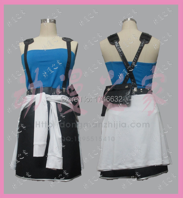 Movie Resident Evil Cosplay Extinction Alice Costume Uniform Party Dress Skirt Custom-made Any Size Free Shipping NEW
