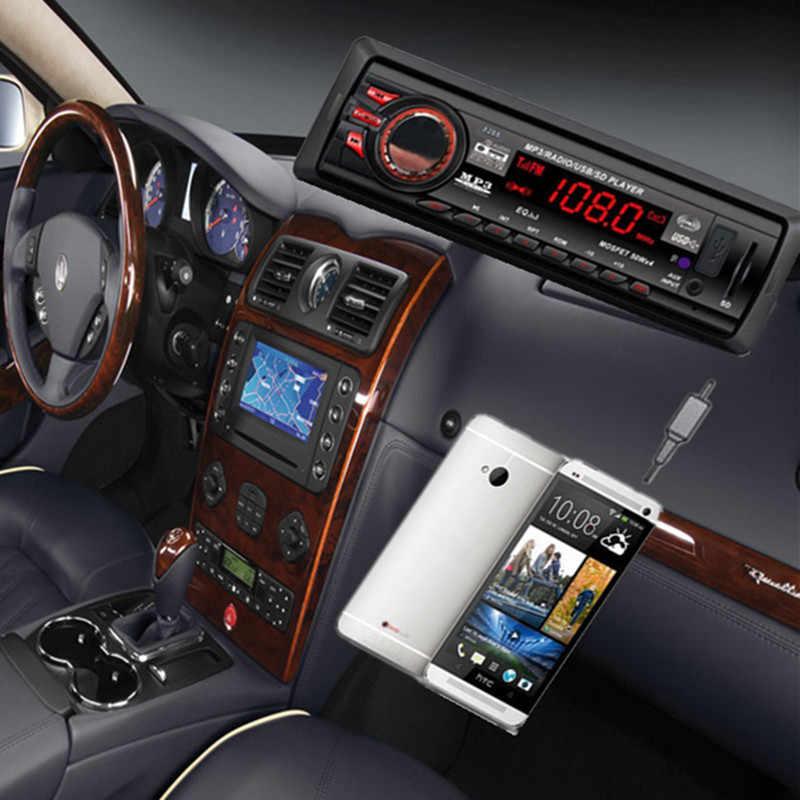 Lecteur Mp3 de voiture 87.5 mhz-108.0 mhz dans le tableau de bord Audio de voiture Bluetooth stéréo unité de tête MP3/USB/SD/AUX/FM entrée AUX 18 Augt 31