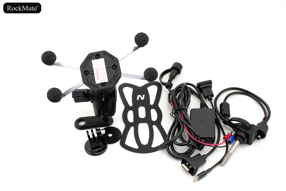 Sport Camera/gps/mobile Phone Holder For Bmw K1200r K1300r K1200s K1300s For Gopro/hero Action Cam Mount Bracket/usb Charger Diversified Latest Designs Frames & Fittings