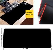 лучшая цена Gaming Mouse Pad Large Size Anti-slip Natural Rubber Notebook PC Computer Gamer Mousepad laptop keyboard mats Locking Edge