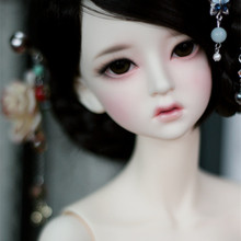 Free shipping high quality resin doll bjd / sd 1/3 dolls BJD SD doll baby girl doll Littlemonica Ryuhwa Free eyes baby girl